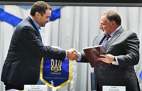 Підписання Меморандуму про створення Інституту футболу