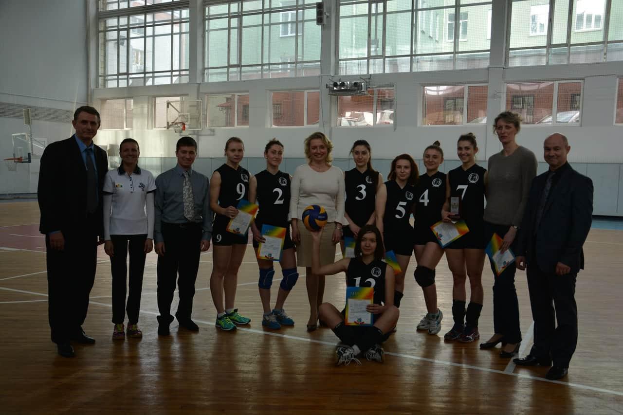 Жіноча збірна НУФВСУ з волейболу стала чемпіоном м. Києва