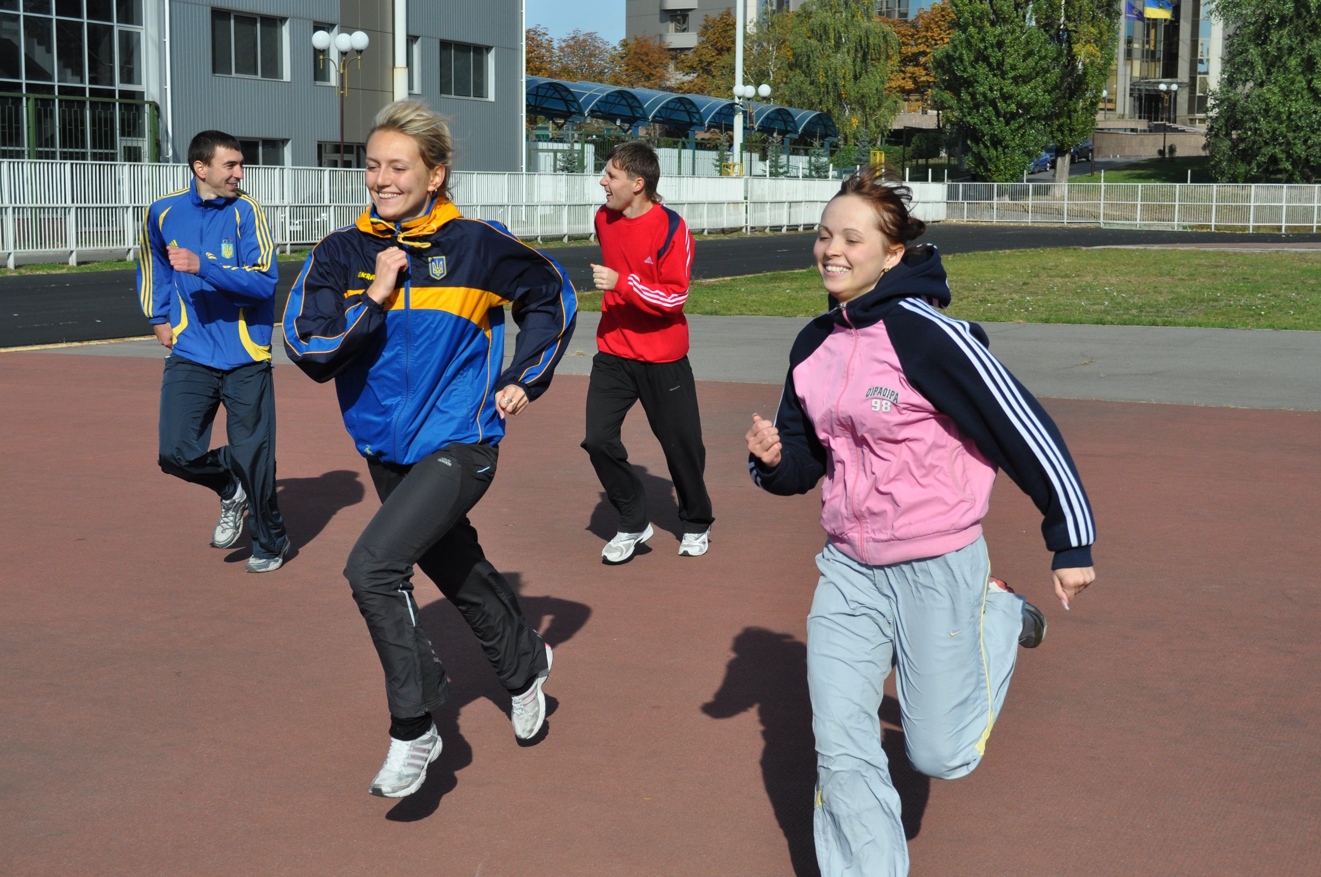 Кафедра легкої атлетики, зимових видів та велосипедного спорту тренування