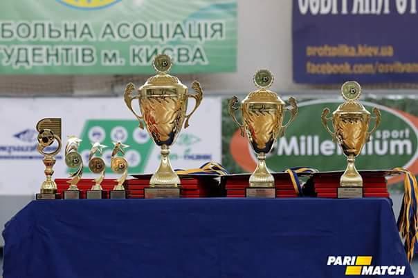 Вітаємо жіночу збірну НУФВСУ з футзалу із бронзою у Чемпіонаті Києва!