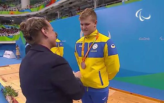 Студент другого курсу Яременко Ілля завоював бронзову медаль на Паралімпійських іграх