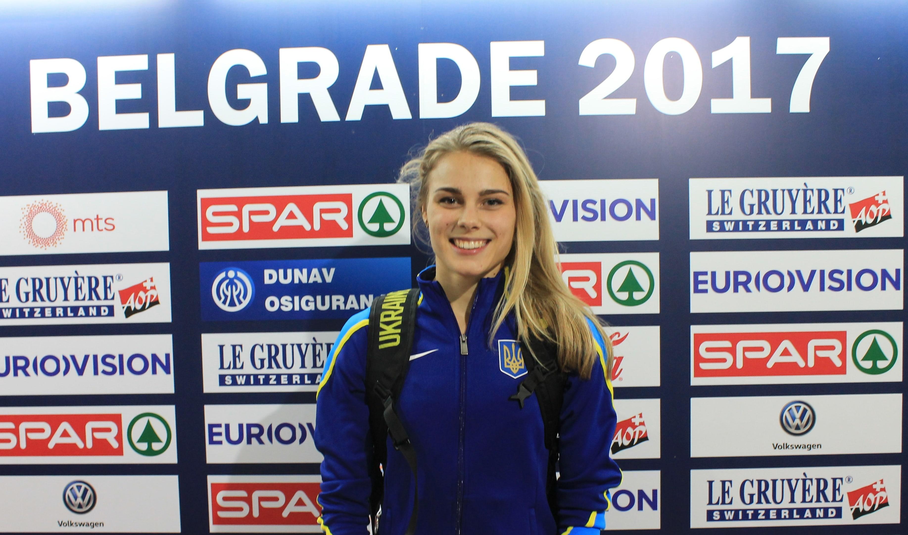Вітаємо бронзову призерку Чемпіонату Європи!