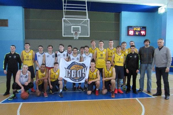 Вітаємо студентську баскетбольну команду НУФВСУ з першою перемогою у новому сезоні!