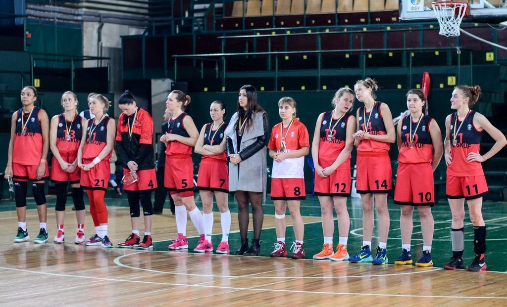 Вітаємо жіночу збірну НУФВСУ з баскетболу – «ТІМ СКУФ» із другим місцем у Кубку України!