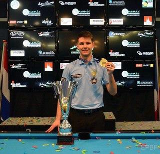 Студент НУФВСУ Віталій Пацура став переможцем чемпіонату Європи зі спортивного більярду (Пул) серед чоловіків