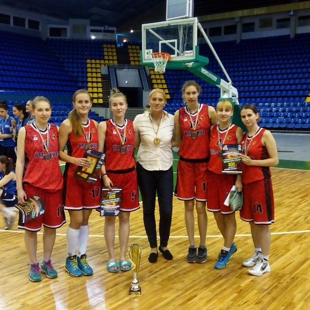 Жіноча збірна команда НУФВСУ з баскетболу стала призерками Студентської Баскетбольної Ліги України