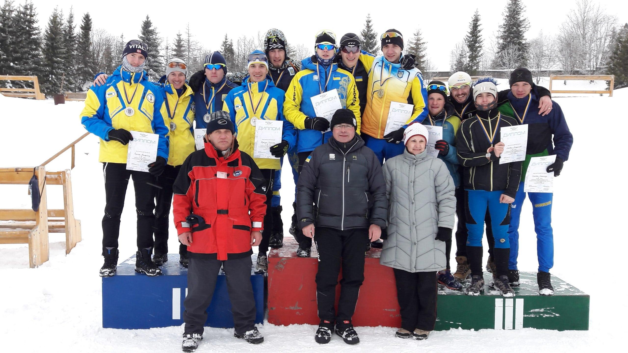 Вітаємо студентів НУФВСУ з успішним виступом на Чемпіонаті України з лижних гонок