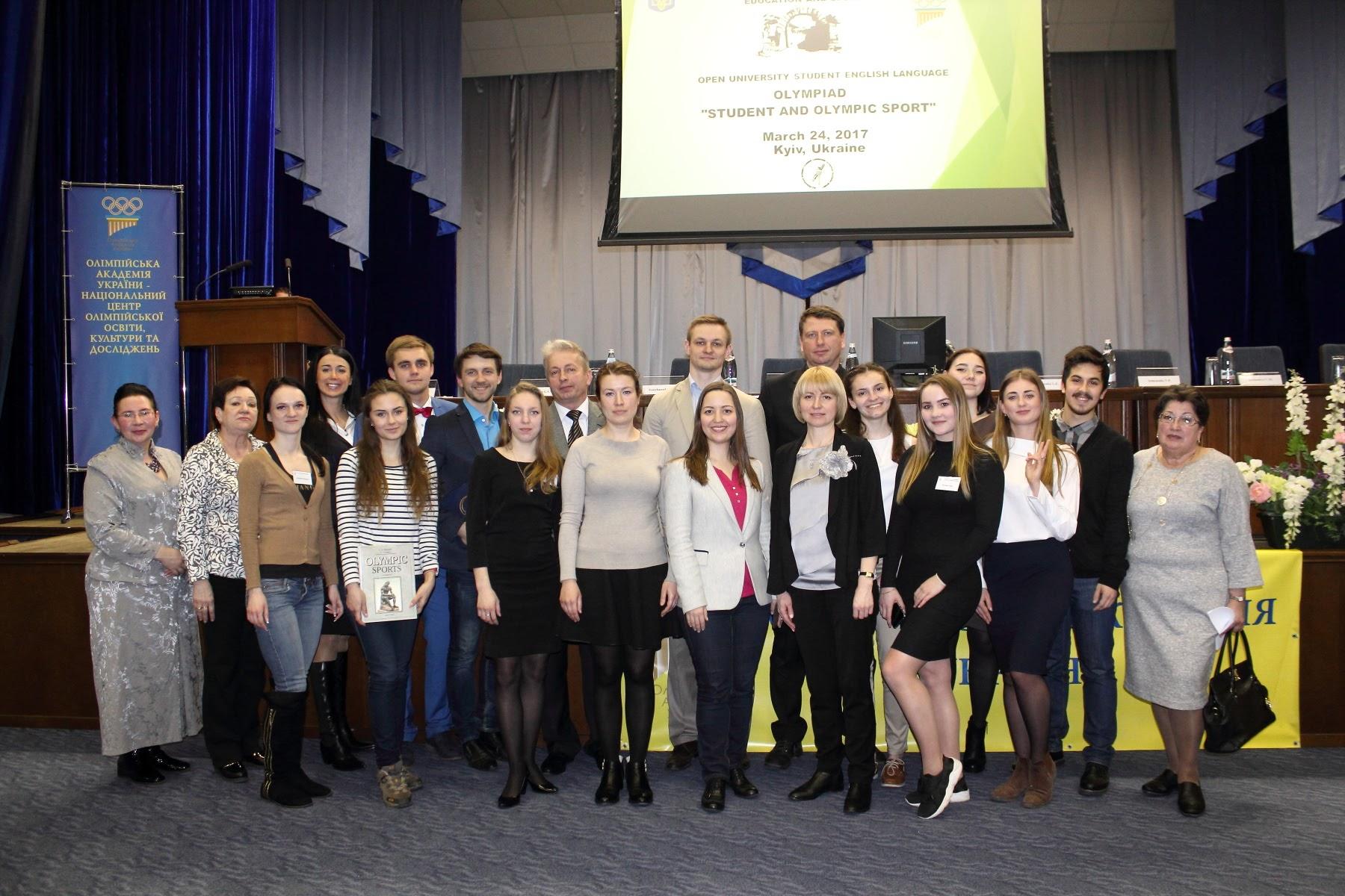 Відкрита олімпіада НУФВСУ з англійської мови «Студент та олімпійський спорт»